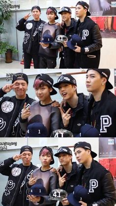Yugyeom, Bambam, Mark, and Jackson