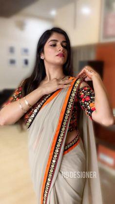 Saree Draping Styles, Saree Trends, Party Wear Sarees, Blouse Designs, Silk Sarees, Photography Poses, Sari, Photoshoot, Designer Sarees