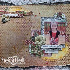 Heartfelt Creations | All Glammed Up Fashionista Layout