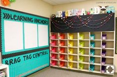 Love the spot for the anchor charts!