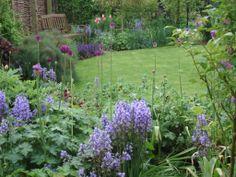 An English cottage garden in springtime #yorkshire #springcottage