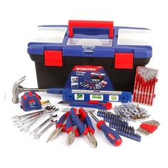 Cheap tool printer, Buy Quality set directly from China tool set for women Suppliers: WORKPRO Household Tool Set with Plastic Box Portable Tool Set Hand Tool Kit, Tool Set, Plastic Tool Box, Home Tools, Hex Key, Screwdriver Set, Socket Set, Diy Supplies, Home Repair