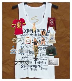 """""""Harry Potter"""" by herm10ne-ruby on Polyvore featuring art"""