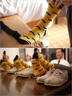 Pesquisas de Noiva: As meias dos padrinhos e do noivo!