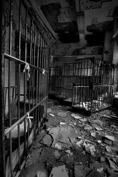 Caged beds - Verden Psychiatric Hospital