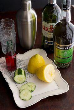 The Rosada   Serves one    2 oz hibiscus-infused Tequila Tromba*  3/4 oz fresh lemon juice  1/2 oz Green Chartreuse  splash of Pernod