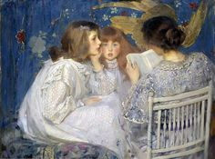 James Jebusa Shannon - Jungle Tales (Contes de la Jungle) [1895]