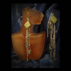 ***NEW DESIGNS*** 'earringsnspyrdbynay' Avail at Nspyrd Boutique, 784 Cascade Ave- Atlanta. 510.967.1278 (retail-wholesale-online). ***SOLD***