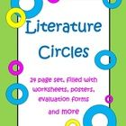This Literature Set, by The Teacher Next Door, has 24 pages filled with everything you'll need to do literature circles in your classroom.   It inc...