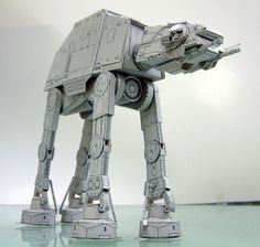 Star Wars Fighting Vehicles 3D Paper Craft Model DIY Assembled Space Ship #PHOTIPONG