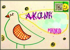 Carta de la Primavera para la peque. Con flores para colorear y poemas. dibujosdenube.blogspot.com.es
