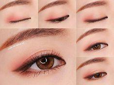 Coral Pink Eyeshadow Makeup Tutorial