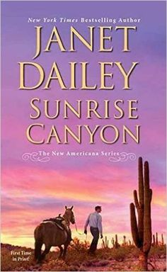 Sunrise Canyon-American Series-Janet Dailey-A tearjerker for me,Kira is one of the most warm and caring people with a goodness reaching out for those in need. She runs a ranch with her grandfather, caring for her niece, and a horse therapy program for troubled teens.Jake is a PTSD soldier coming home from the war,lost after his time in the military, his wife dead and a child he doesn't know. He is father to Kira's niece. Layers of love, loss,heartbreak,hopes  forgiveness, dreams. 4.25 Stars!