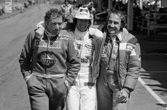 Vittorio Brambilla (Surtees-Ford) / Arturo Merzario (Merzario-Ford) & Clay Regazzoni (Shadow-Ford) - Grand Prix de Suède - Anderstorp 1978 - F1 History & Legends - Facebook.