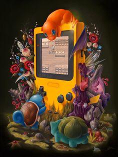 """Choose Wisely"" Pokemon by Bennett Slater Art Poster Game Boy MINT Mondo Print - Pokemon Art Fan Art Pokemon, Cute Pokemon, Nintendo Pokemon, Pokemon Tattoo, Pokemon Stuff, Pokemon Games, Game Boy, Photo Pokémon, Games"