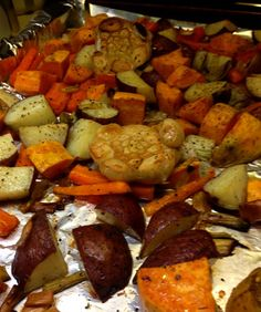 Savor the Holidays Day 3: Roasted Vegetables Complete Any Meal