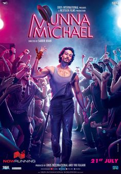 Tiger Shroff in 'Munna Michael' - New Poster