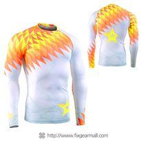 FIXGEAR CFL-F65 Compression Base Layer Shirts Fluorescence Color