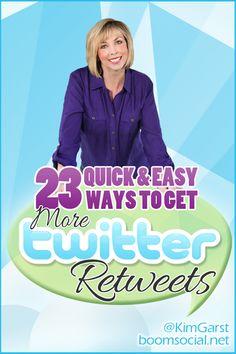 Get More Twitter Retweets