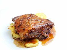 ▷ Receta de Ternasco al Horno con Patatas | Gastro Zaragoza Huevos Fritos, Carne, Pork, Turkey, Meat, Instagram Posts, Gastronomia, World, Potatoes