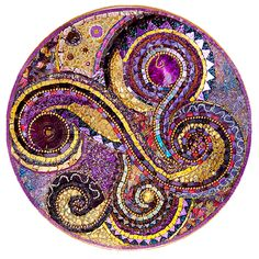 Glimmer Glass Mosaics - Circles