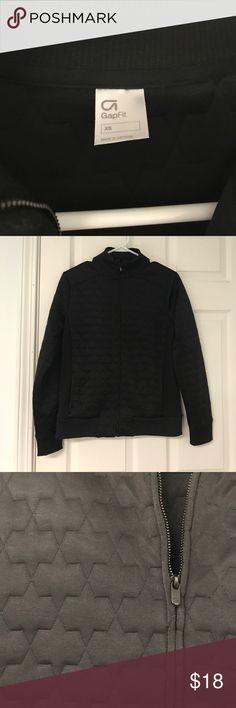 Gap geometric zip up jacket size XS Gap geometric zip up jacket size XS. Worn no more than a handful of times. Loosely fitting, super cute jacket! GAP Jackets & Coats
