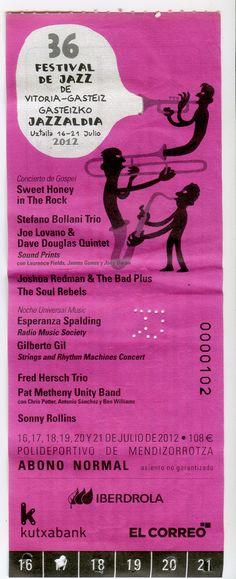 2012, una buena edición con un ingrediente sorpresa.... no hubo flamenco !!!!!