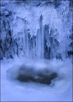 """""""Ice Flow"""", Pelham, Massachusetts"""