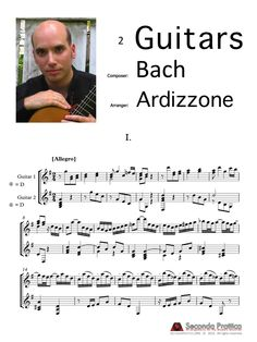 Italian Concerto, BWV 971 by Bach/Ardizzone Sheet Music, Words, Musica, Music Sheets, Horse