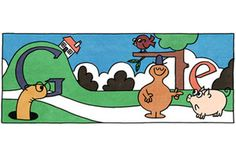 Happy Birthday, Roger Hargreaves. The acclaimed children's book author would have turned 76 today. In true Google fashion, the search engine saluted Hargreaves with a homepage homage featuring some of his iconic characters.Roger Hargreaves may be best known for his Mr. Men and Little Miss books about smiling, colorful cartoons. Google really went whole hog for today's celebration, reviving Mr. Messy, Little Miss Chatterbox, Mr. Tickle, and tons of other doodled dudes. There are 16 Roger…
