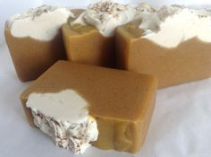 Pumpkin Pie Soap by NESoaps on Etsy, $6.00