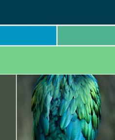 Green-to-blue