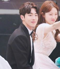 Will forever ship these two ❤ Nam Joo Hyuk Lee Sung Kyung, Jong Hyuk, Nam Joo Hyuk Tumblr, Kpop, Weightlifting Kim Bok Joo, Weighlifting Fairy Kim Bok Joo, Kdrama, Joon Hyung, Kim Book