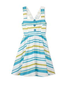 Coupé Cutie Girl's Sleeveless Striped Dress at MYHABIT