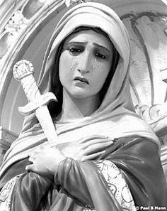 MOTHER OF SORROWS DEVOTION--7 Promises Made by the Blessed Virgin to St. Bridget of Sweden, for those who practice this devotion daily. I will grant peace to their families. They will be enlightened about the Divine Mysteries. I will console them in their pains and I will accompany them in their work. I will give them as much as they ask for as long as it does not oppose the adorable will of my Divine Son or the sanctification of their souls.
