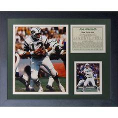Legends Never Die Joe Namath Home Framed Memorabilia