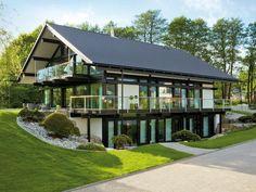 Красота чистых линий стиля фахверк от HUF Haus - Дизайн интерьеров   Идеи вашего дома   Lodgers