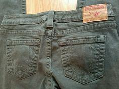 True religion women's skinny jeans size 29 grey STELLA must see #TrueReligion #SlimSkinny