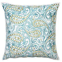 Ambi Pillow - Aquamarine great price http://www.zgallerie.com/p-10669-ambi-pillow-aquamarine.aspx