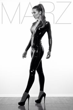superhighprojection: New image by richardmarzphotography shot in LA last week! Wearing ladylucielatex <3