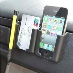 Amazon.com: Hooshion® Multi-Function Car holder Stand Carried Pocket Gadget Bag for Iphone Mobile GPS Pad: Cell Phones & Accessories