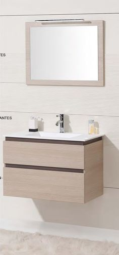 Mueble baño suspendido 100 cm suspendido Muebles de baño fabricado