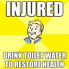 Yes, this can actually save your life in Fallout 3.