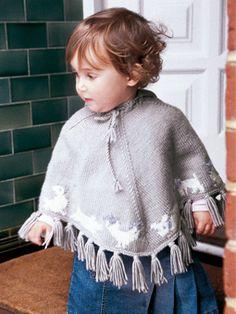 Die 42 Besten Bilder Von Baby Ponchos Knitting For Kids Baby
