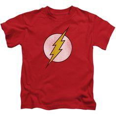 Flash: Flash Logo Distressed Juvy T-Shirt
