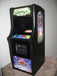 Melarky » Mini Galaga Arcade Machine