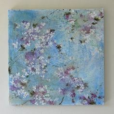 Beautiful wall decorations, from French artist Laurence Amelie, Flowers.