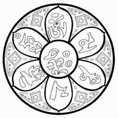 Мандалы древних религий, стран и народов
