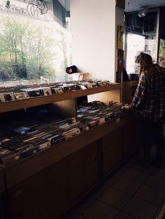 - Record shops -