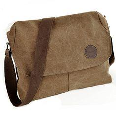 Partiss New Style Men Single-shoulder Canvas Bag